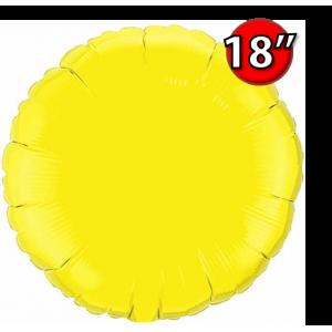 """Foil Round 18""""  Yellow (Non-Pkgd.), QF18RP12915 (0) <10 Pcs/包>"""