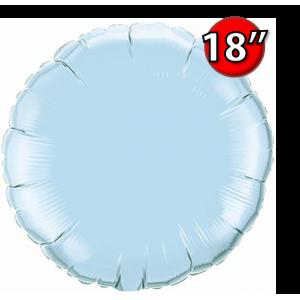 """Foil Round 18""""  Pearl Light Blue (Non-Pkgd.), QF18RP63745 (0) <10 Pcs/包>"""