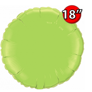 "Round 18"" 圓形 Lime Green , *QF18RP73310 <Helium #B>"