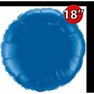 """Foil Round 18""""  Dark Blue (Non-Pkgd.), QF18RP87141 (0) <10 Pcs/包>"""
