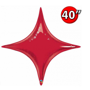 "Starpoint 40"" Ruby Red , *QF40SP31869 <Helium #C>"