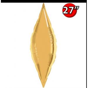 "Taper 27"" Metallic Gold / Air-Fill (non-pkgd.), QF27SP17133 (0) <10 個/包>"