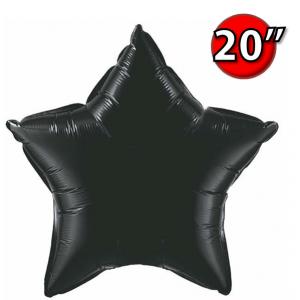 """Foil Star 20"""" Onyx Black (Non-Pkgd.), QF20SP12617 (0) <10 Pcs/包>"""