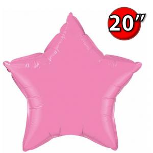 """Foil Star 20"""" Rose (Non-Pkgd.), QF20SP12620 (0) <10 Pcs/包>"""