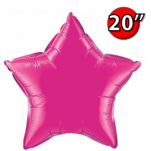 """Foil Star 20"""" Magenta (Non-Pkgd.), QF20SP99337 (0) <10 Pcs/包>"""