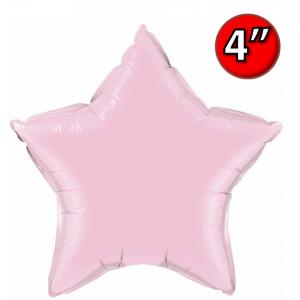 """Foil Star 4"""" Pearl Pink / Air Fill (Non-Pkgd.), QF04SP54571 (0) <10 Pcs/包>"""