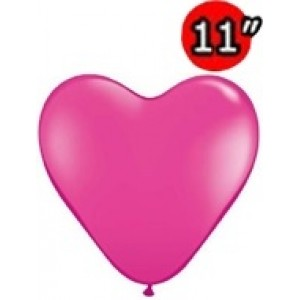 "Heart 11"" Wild Berry , *QL11HF78335"
