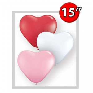 "Heart Assortment 15"" 心形 - Sweetheart (50ct) , *QL15HS24701"