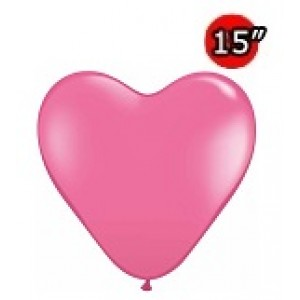 "Heart 15"" Rose (50ct) , *QL15HF24020"