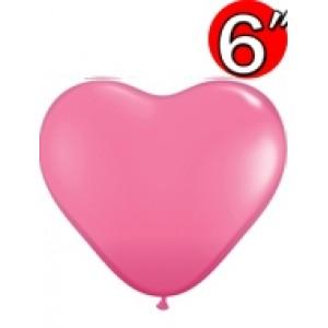 "Heart 6"" Rose , QL06HF43646 (2)"