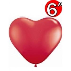 "Heart 6"" Std Red , QL06HS43645 (1)"