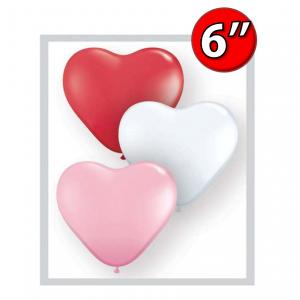 "Heart Assortment  6"" 心形 - Sweetheart , *QL06HS43644"