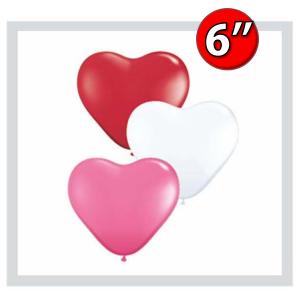 """Heart Assortment  6"""" 心形 - Love , *QL06HS47949"""