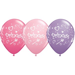 "11"" Special Assorted Princess (TW) - Pink, Rose, & Spring Lilac (50ct) , QL11RI76815 (0)"