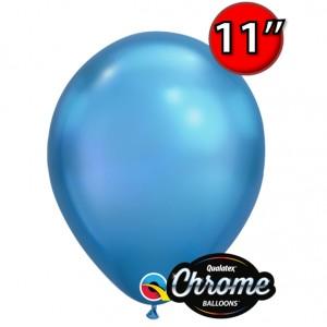 """11"""" Chrome Blue , QL11RC58272 (25)"""