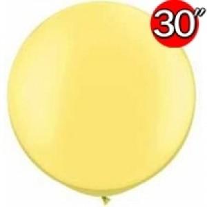 """30"""" Pearl Lemon Chiffon (2ct) , QL30RP38485 (0)"""