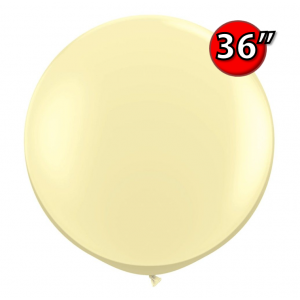 "36"" (3') Ivory Silk (2ct) , QL36RF43657 (0)"