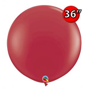 "36"" (3') Maroon (2ct) , QL36RF57134 (4)"
