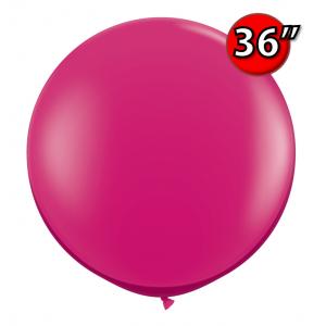 "36"" (3') Jewel Magenta (2ct) , QL36RJ43492 (0)"