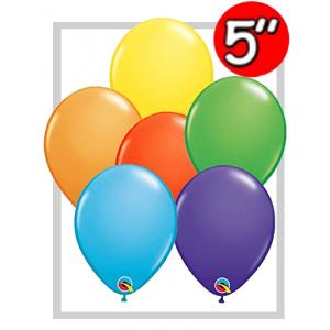 "5"" - Bright Rainbow Assortment , QL05RA49487 (0)"