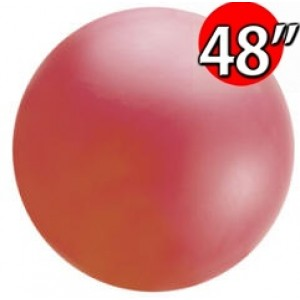 "48"" (4') Chloroprene / Red  - Giant Cloudbuster Balloon, QL48RS91212 (0)"