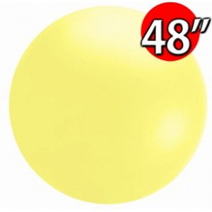 "48"" (4') Chloroprene / Yellow - Giant Cloudbuster Balloon , *QL48RS91213"