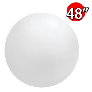 "48"" (4') Chloroprene / White - Giant Cloudbuster Balloon , *QL48RS91215"