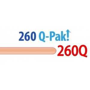 260Q Rose Gold【Q-Pak】(50ct) , QL260PQ57346 (QP3_0)
