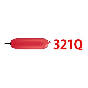321Q Black Tip - Std Red , QL321S13578