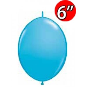 "QuickLink  6"" 尾巴球 Robin's Egg Blue (50ct) , QL06LF90424"