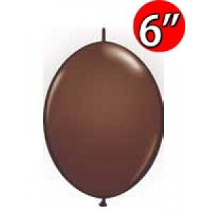 "QuickLink  6"" 尾巴球 Chocolate Brown (50ct) , QL06LF90492"