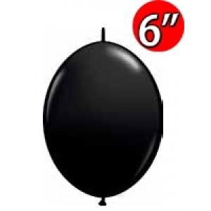 "QuickLink 6"" 尾巴球 OnyxBlack (50ct) , QL06LJ90176 (1)"
