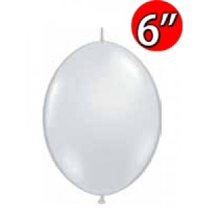 "QuickLink 6"" 尾巴球 Diamond Clear (50ct) , QL06LJ90382 (3)"