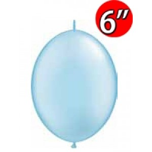 "QuickLink 6"" 尾巴球 Pearl Light Blue (50ct) , QL06LP90493 (3)"