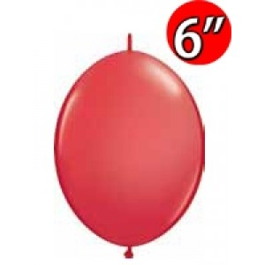"""QuickLink 6"""" 尾巴球 Std Red (50ct) , QL06LS90173 (1)"""