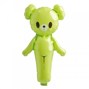 SAG - Colorful Bear Light Green / Air-Fill (Non-Pkgd.), SAG-1388
