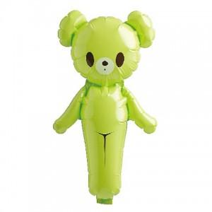 SAG - Colorful Bear Light Green , *SAG-1388