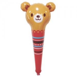 SAG - Animal Bear PVC 棒棒 / Air-Fill (Non-Pkgd.), SAG-B1480