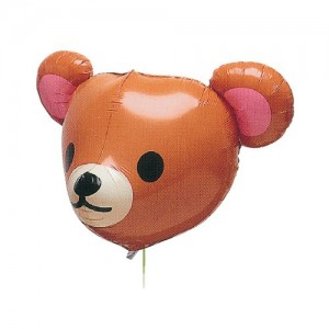 "SAG - 17"" 3D Qooma Style Caramel Brown Teddy , SAG-B2338"