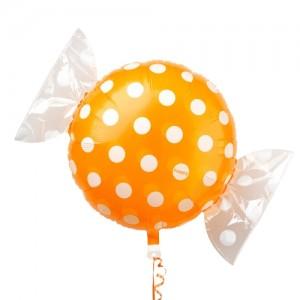 "SAG - Fruit Candy 18"" 果汁糖 Orange , SAG-C2446 <Helium #B>"