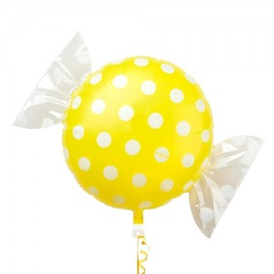 "SAG - Fruit Candy 18"" 果汁糖 Lemon , SAG-C2447 <Helium #B>"