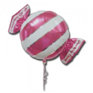"SAG - Premium Candy 18"" 拖肥糖 Pearl Rose , SAG-C2454 <Helium #B>"
