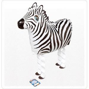 SAG Walking Balloon - Zebra 斑馬 (non-pkgd.), SAG-W8833