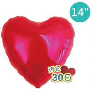 "Ibrex Heart 14"" 心形 Metallic Red (Non-Pkgd.), TKF14HP313101"