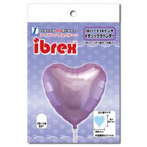 "ibrex Heart 14"" 心形 Metallic Lavender (pkgd.) , TKF14HP333111PK"