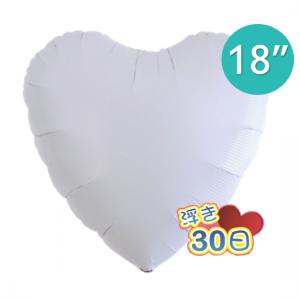 "Ibrex Heart 18"" 心形 White (Non-Pkgd.), TKF18HP311103"