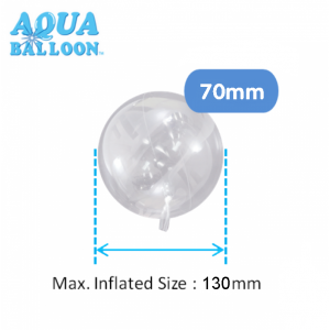 Aqua Balloon Round 70mm / Air (Non-Pkgd.), TK-AQ-R320013