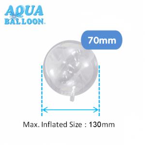 Aqua Balloon Round 70mm , *TK-AQ-R320013