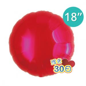 "Ibrex Round 18"" 圓形 Metallic Red (Non-Pkgd.), TKF18RP311301"