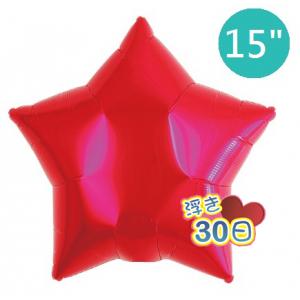"ibrex Star 15"" 星形 Metallic Red , TKF15SP313201 <Helium #B>"